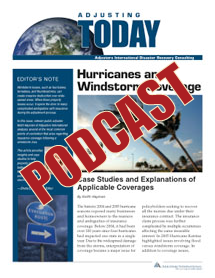 Hurricanes and Windstorm Coverage